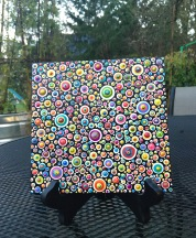 Acrylic on canvas -- Dot mania