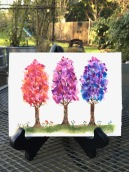 Watercolor - trees you might not see in nature